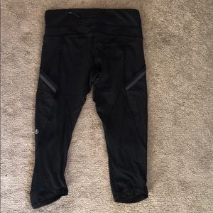 Short knee length lulu leggings